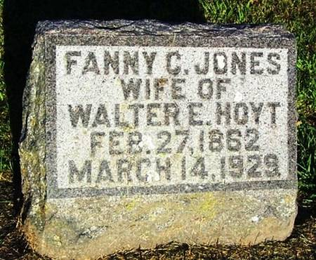 HOYT, FANNY C. - Winneshiek County, Iowa | FANNY C. HOYT