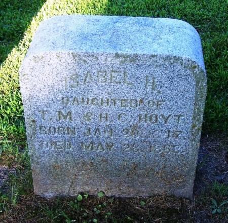 HOYT, ISABEL H. - Winneshiek County, Iowa   ISABEL H. HOYT