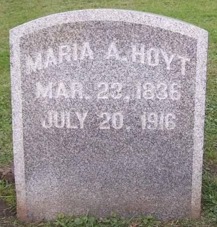 HOYT, MARIA A. - Winneshiek County, Iowa | MARIA A. HOYT
