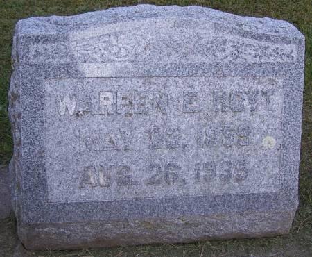 HOYT, WARREN E. - Winneshiek County, Iowa | WARREN E. HOYT
