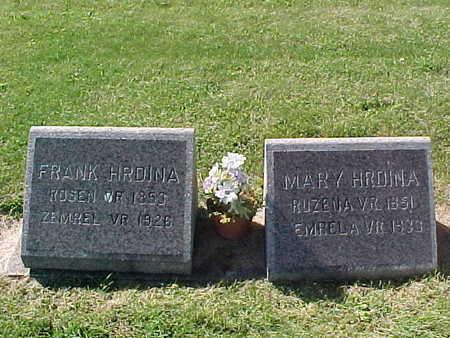 HRDINA, MARY - Winneshiek County, Iowa | MARY HRDINA