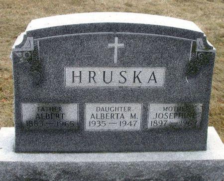 HRUSKA, JOSEPHINE - Winneshiek County, Iowa   JOSEPHINE HRUSKA