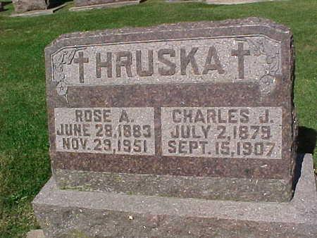 HRUSKA, CHARLES  J. - Winneshiek County, Iowa | CHARLES  J. HRUSKA