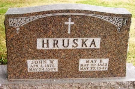 HRUSKA, MAY B. - Winneshiek County, Iowa | MAY B. HRUSKA