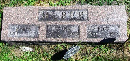 HUBER, ROSE - Winneshiek County, Iowa | ROSE HUBER
