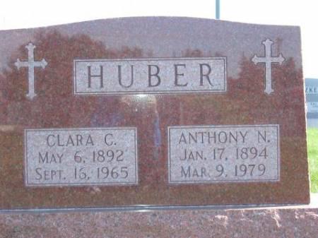 HUBER, CLARA C. - Winneshiek County, Iowa | CLARA C. HUBER