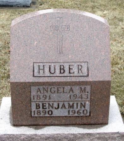 HUBER, BENJAMIN - Winneshiek County, Iowa   BENJAMIN HUBER