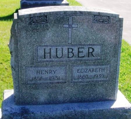 HUBER, HENRY - Winneshiek County, Iowa   HENRY HUBER