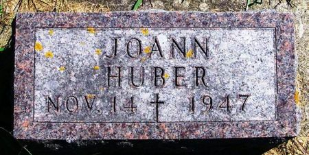 HUBER, JOANN - Winneshiek County, Iowa   JOANN HUBER
