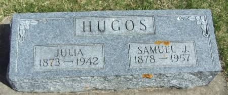 HUGOS, JULIA - Winneshiek County, Iowa   JULIA HUGOS
