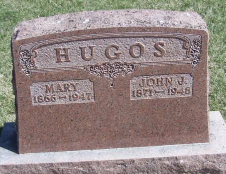 HUGOS, JOHN J - Winneshiek County, Iowa   JOHN J HUGOS