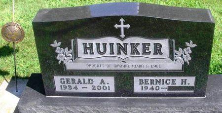HUINKER, GERALD ALOIS - Winneshiek County, Iowa   GERALD ALOIS HUINKER