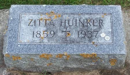 HUINKER, ZITTA - Winneshiek County, Iowa | ZITTA HUINKER