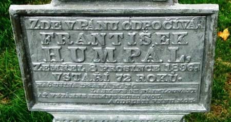 HUMPAL, FRANTISEK - Winneshiek County, Iowa   FRANTISEK HUMPAL