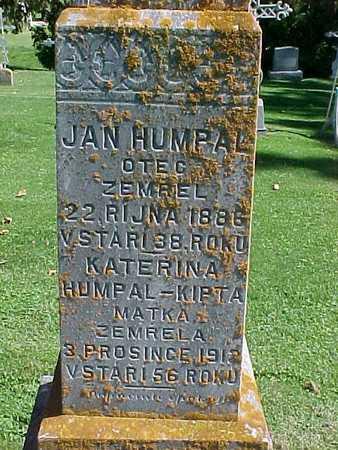 HUMPAL, JAN - Winneshiek County, Iowa | JAN HUMPAL