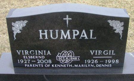 ELSBERND HUMPAL, VIRGINIA MARY - Winneshiek County, Iowa | VIRGINIA MARY ELSBERND HUMPAL