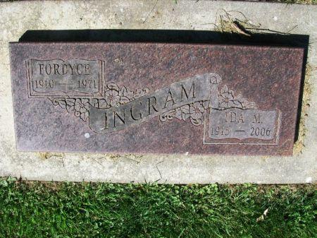 INGRAM, FORDYCE - Winneshiek County, Iowa | FORDYCE INGRAM
