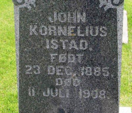 ISTAD, JOHN KORNELIUS - Winneshiek County, Iowa | JOHN KORNELIUS ISTAD