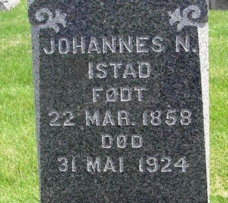 ISTAD, JOHANNES NILSEN - Winneshiek County, Iowa   JOHANNES NILSEN ISTAD