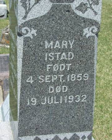 ISTAD, MARY - Winneshiek County, Iowa | MARY ISTAD