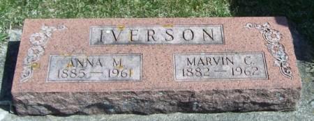IVERSON, MARVIN C - Winneshiek County, Iowa | MARVIN C IVERSON
