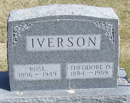 IVERSON, ROSE - Winneshiek County, Iowa | ROSE IVERSON