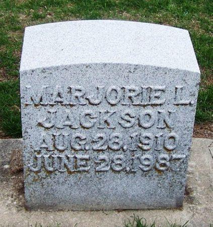 JACKSON, MARJORIE L. - Winneshiek County, Iowa | MARJORIE L. JACKSON