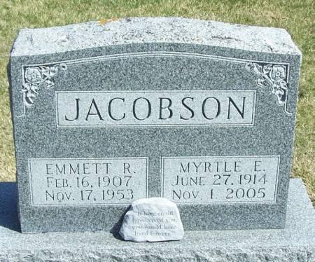 JACOBSON, EMMETT R - Winneshiek County, Iowa   EMMETT R JACOBSON