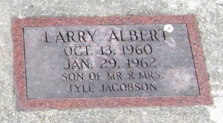 JACOBSON, LARRY ALBERT - Winneshiek County, Iowa | LARRY ALBERT JACOBSON