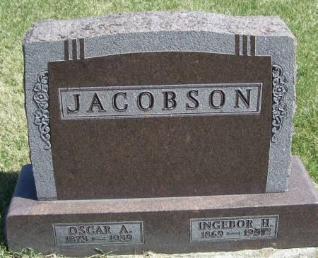 JACOBSON, INGEBOR H - Winneshiek County, Iowa | INGEBOR H JACOBSON
