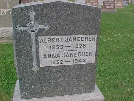 JANECHEK, ANNA - Winneshiek County, Iowa | ANNA JANECHEK