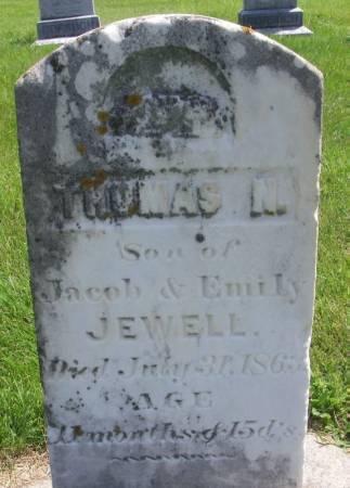 JEWELL, THOMAS N - Winneshiek County, Iowa | THOMAS N JEWELL