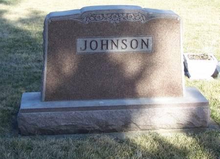 JOHNSON, ARTHUR FAMILY STONE - Winneshiek County, Iowa | ARTHUR FAMILY STONE JOHNSON