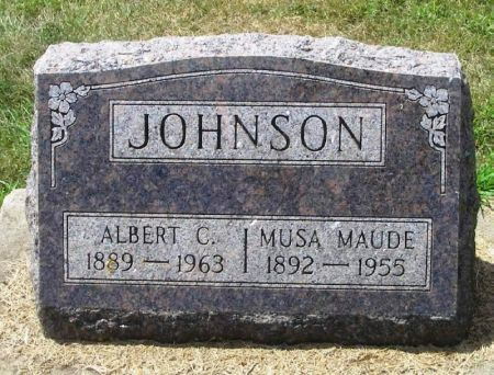 JOHNSON, ALBERT C. - Winneshiek County, Iowa | ALBERT C. JOHNSON