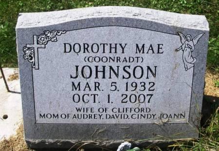 JOHNSON, DOROTHY MAE - Winneshiek County, Iowa   DOROTHY MAE JOHNSON