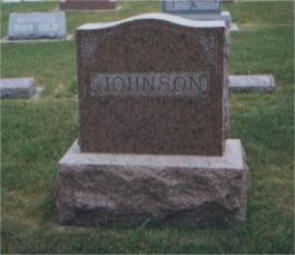 JOHNSON, FAMILY - Winneshiek County, Iowa | FAMILY JOHNSON