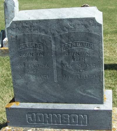 JOHNSON, GILBERT - Winneshiek County, Iowa | GILBERT JOHNSON