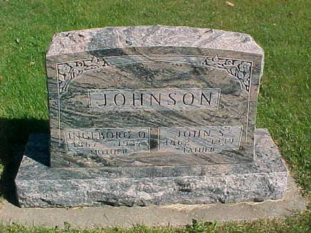 JOHNSON, JOHN  S. - Winneshiek County, Iowa | JOHN  S. JOHNSON