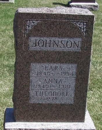 JOHNSON, ANNA - Winneshiek County, Iowa | ANNA JOHNSON