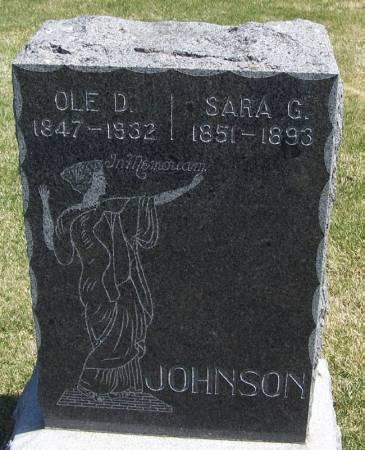 JOHNSON, OLE D - Winneshiek County, Iowa | OLE D JOHNSON