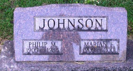 JOHNSON, PHILIP M. - Winneshiek County, Iowa   PHILIP M. JOHNSON