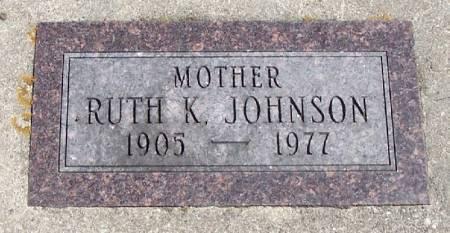 JOHNSON, RUTH K - Winneshiek County, Iowa | RUTH K JOHNSON
