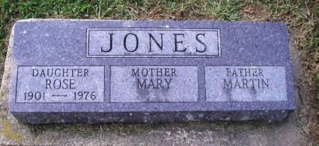 JONES, MARY - Winneshiek County, Iowa | MARY JONES