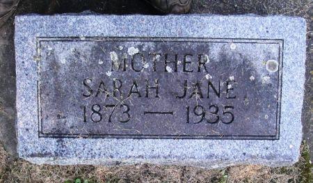 JORDAHL, SARAH JANE - Winneshiek County, Iowa | SARAH JANE JORDAHL