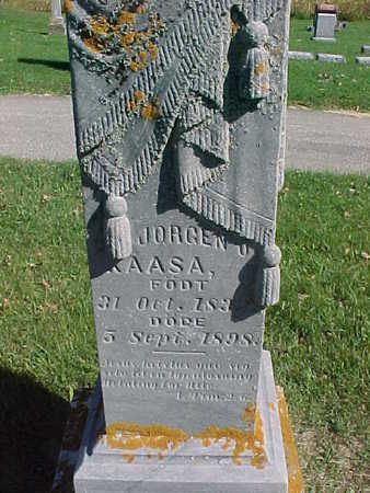 KAASA, JORGEN O. - Winneshiek County, Iowa | JORGEN O. KAASA