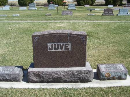 JUVE, EDWARD FAMILY STONE - Winneshiek County, Iowa | EDWARD FAMILY STONE JUVE