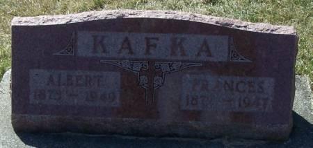 KAFKA, ALBERT - Winneshiek County, Iowa | ALBERT KAFKA