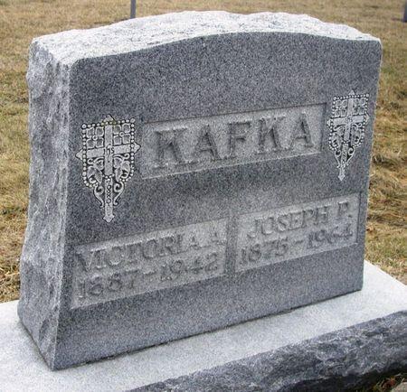 KAFKA, JOSEPH P. - Winneshiek County, Iowa   JOSEPH P. KAFKA