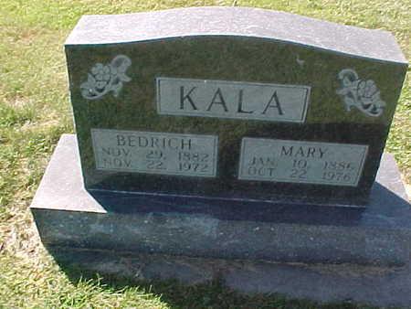 KALA, MARY - Winneshiek County, Iowa   MARY KALA