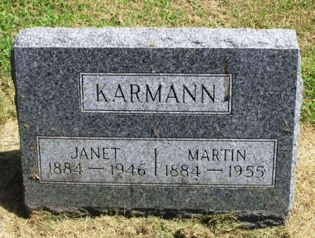 KARMANN, JANET - Winneshiek County, Iowa | JANET KARMANN